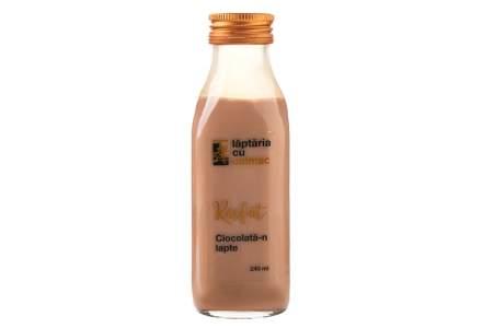 Lăptăria cu Caimac își extinde gama de produse cu un nou sortiment, lapte cu ciocolată