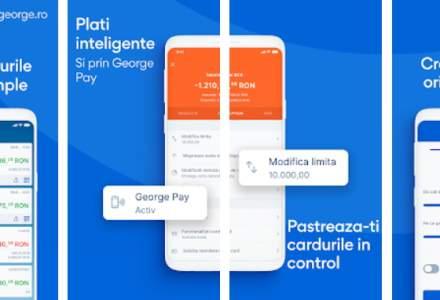 Platforma George a BCR atinge 900.000 utilizatori; tranzacțiile au explodat în S1
