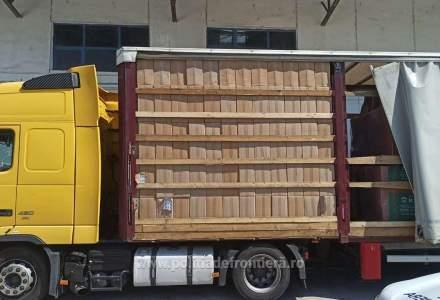 Cea mai mare captură de țigări de contrabandă a anului: un camion plin cu 162.000 de pachete