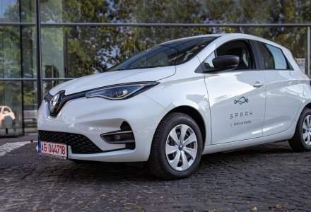 Flota SPARK din București va ajunge la peste 500 de mașini electrice