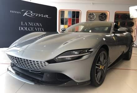 Ferrari Roma, prezentat la București. Noul model costă sub 200.000 euro cu TVA