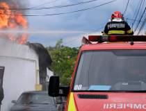 VIDEO Incendiu în Chitila,...