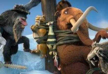 """Al cincilea film din franciza animata """"Ice Age"""" va fi lansat in iulie 2016"""
