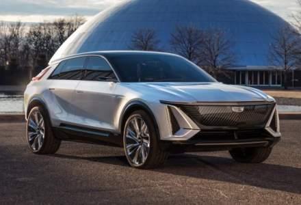 GM dezvăluie primul său SUV Cadillac complet electric