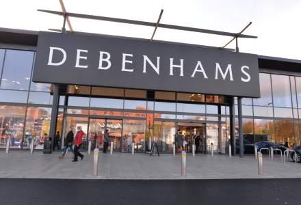 Retailerul Debenhams concediază 2.500 de angajați în Marea Britanie