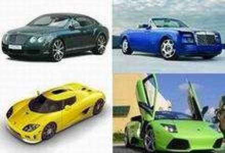 Piata auto de lux a crescut anul trecut cu 88% in Romania, la 269 unitati