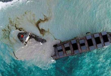 O PETRECERE, motivul pentru care a eșuat petrolierul în Mauritius