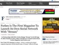 Revista Forbes lanseaza...