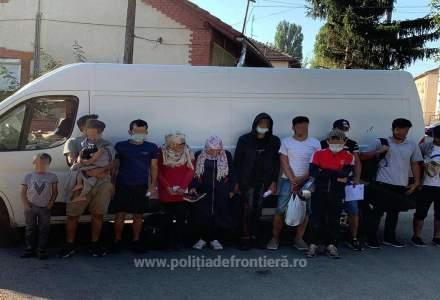 Migranți sirieni, reținuți pentru traversarea ilegală a României