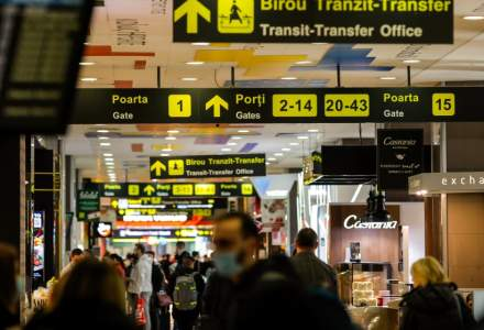Asociaţia Aeroporturilor: Numărul de pasageri pe aeroporturi în România, în scădere cu 61% din cauza Covid-19