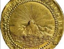 Prima moneda de aur din...
