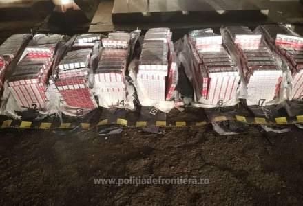FOTO Contrabandă cu peste 20.800 de pachete de țigări în județul Botoșani