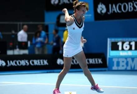 Simona Halep face istorie in tenis: a invins-o pe Jelena Jankovici si ajunge in sferturi la Australian Open