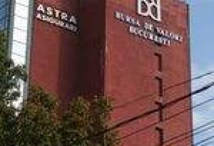 Bursa a incheiat sedinta in usoara scadere