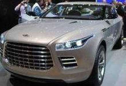 Aston Martin colaboreaza cu Mercedes pentru SUV-ul Lagonda Concept