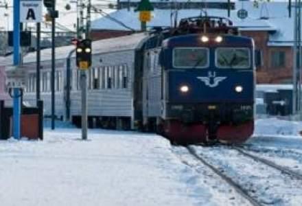 Zapada viscolita afecteaza traficul feroviar: mai multe trenuri de calatori au fost anulate