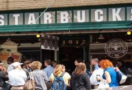 Clientii Starbucks nu vor mai sta la coada. Compania va introduce comanda prin aplicatia mobila