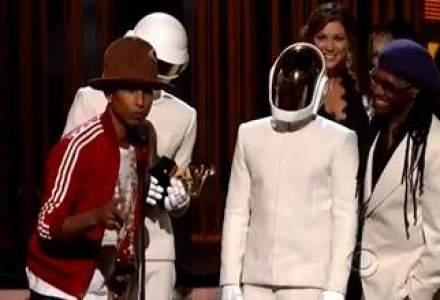 Premiile Grammy: Daft Punk, marele castigator cu cinci trofee