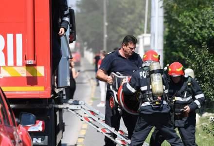 Incendiu la un hotel din București. Zece persoane au fost evacuate