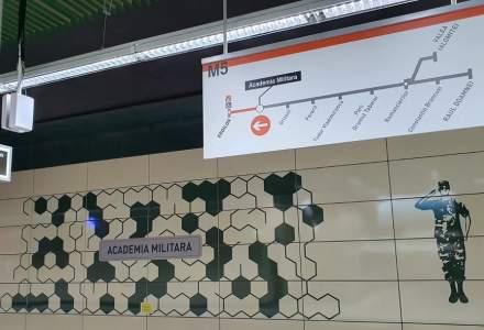 FOTO   Cum arată Magistrala 5 de metrou Drumul Taberei - Eroilor