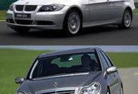 Moment istoric in industria auto: BMW ar putea schimba actiuni cu Mercedes