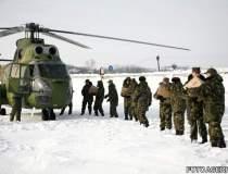 Romania sub viscol: Armata...