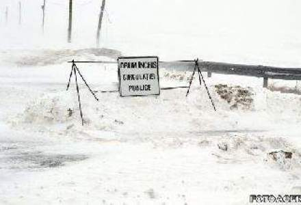 Drumuri inchise de viscol: circulatia pe Lehliu-Fetesti si DN24D inchisa. Restrictii pe alte drumuri