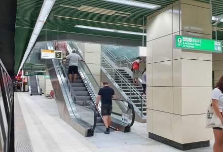 Așa arată stațiile Magistralei 5 de metrou Drumul Taberei - Eroilor