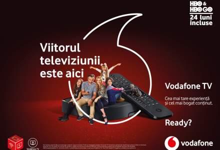 Vodafone lansează un serviciu de televiziune: cât costă Vodafone TV și ce oferă