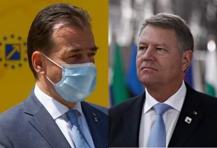 Reacțiile lui Orban și Iohannis la recordul absolut de cazuri COVID-19 în România