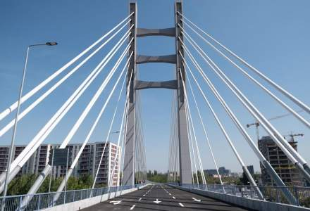 După 14 ani, construcțiile la Podul Ciurel din Captală sunt finalizate. Când va fi dat în folosință