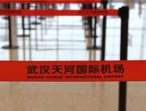 Pe aeroportul din Wuhan a...