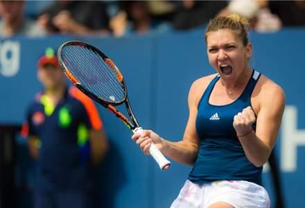 Simona Halep merge în finala WTA de la Roma după victoria cu Muguruza