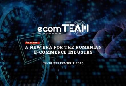 ecomTEAM 2020, două zile de e-commerce intensiv: cum poți avea acces gratuit la workshop-uri, prezentări și paneluri susținute de specialiștii din piață