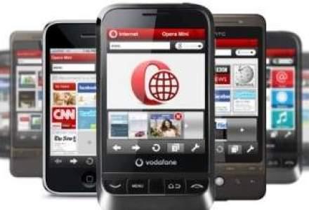 Vodafone a atras aproape 200.000 de clienti anul trecut