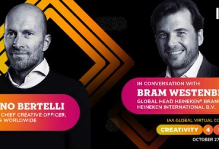(P) Heineken vine pentru prima dată pe scena IAA Global Conference #Creativity4Better!