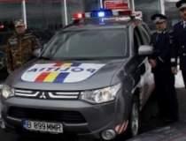 Politia a primit un SUV...