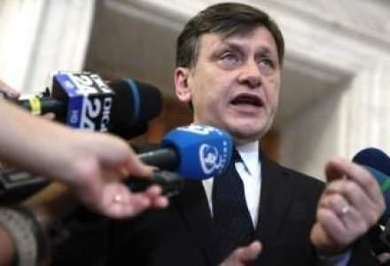 Antonescu, catre Nicolaescu: scutirea de impozit pe profit si reducerea CAS sa devina rapid realitate