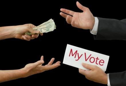 Prima reținere în ziua alegerilor locale: un bărbat a oferit bani pentru voturi