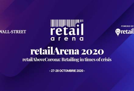 retailArena revine cu cea de-a opta ediție, într-un format hibrid: RetailAboveCorona - Retailing in times of crisis, pe 27 și 28 octombrie