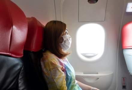 Studiu: ce locuri din avion s-au dovedit a fi cele mai expuse infectării cu noul coronavirus într-o cursă a companiei aeriene Qantas