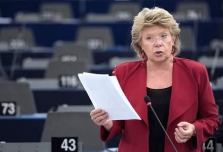 Viviane Reding: Romii sunt o problema reala pentru libera circulatie in UE, iar aceasta nu este pentru ajutoare sociale