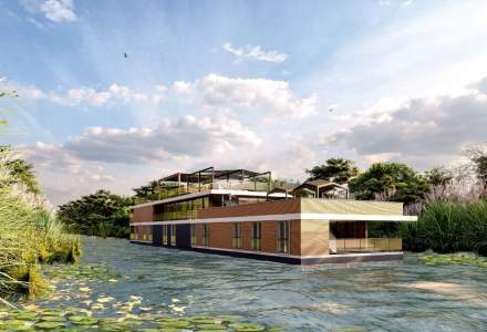 Cum vor arăta hotelurile plutitoare din Delta Dunării