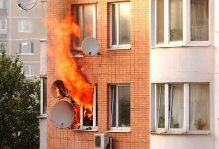 UNSAR: 6 din 10 români, îngrijorați de incendiile care le pot afecta locuințele