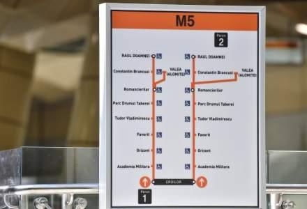 Harta rezidenților din jurul noilor stații de metrou M5 și a clădirilor de birouri din apropiere
