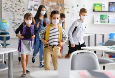 Fonduri europene de până 250.000 de euro pentru măști și dezinfectanți în școli