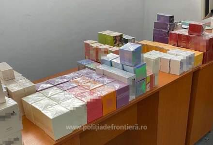 Peste 1.700 de articole contrafăcute au fost confiscate de polițiștii de frontieră