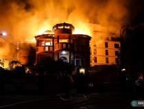 Incendiu de proporții în...