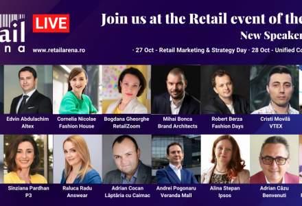 Noi speakeri confirmați la retailArena 2020 - Retailing in times of crisis