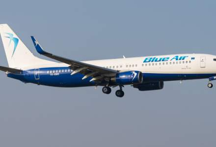 Reduceri mari la zborurile Blue Air